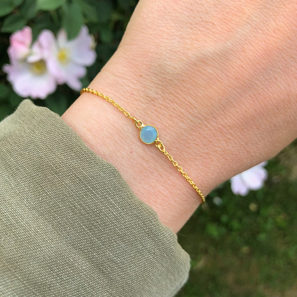 LULU BLUE GOLDEN BRACELET