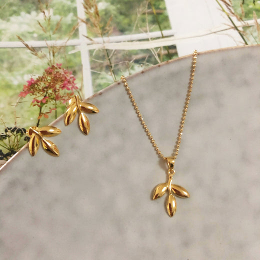 THEA GOLDEN NECKLACE