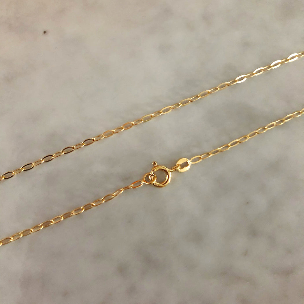 ALMA SMALL LINK GOLDEN CHAIN