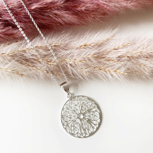 MARION SILVER NECKLACE