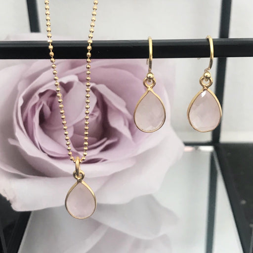ELLA ROSE GOLDEN EARRING NECKLACE SET