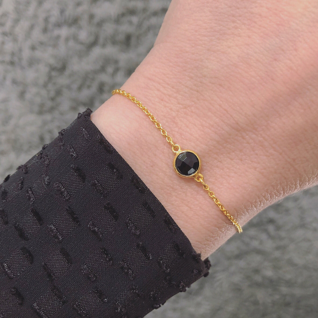 EVA MINI BLACK GOLDEN BRACELET