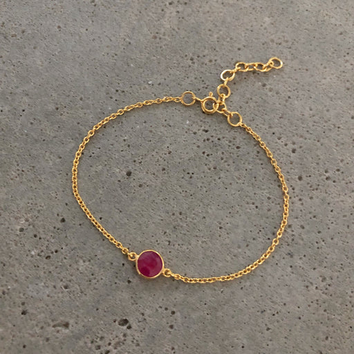 EVA MINI RED GOLDEN BRACELET