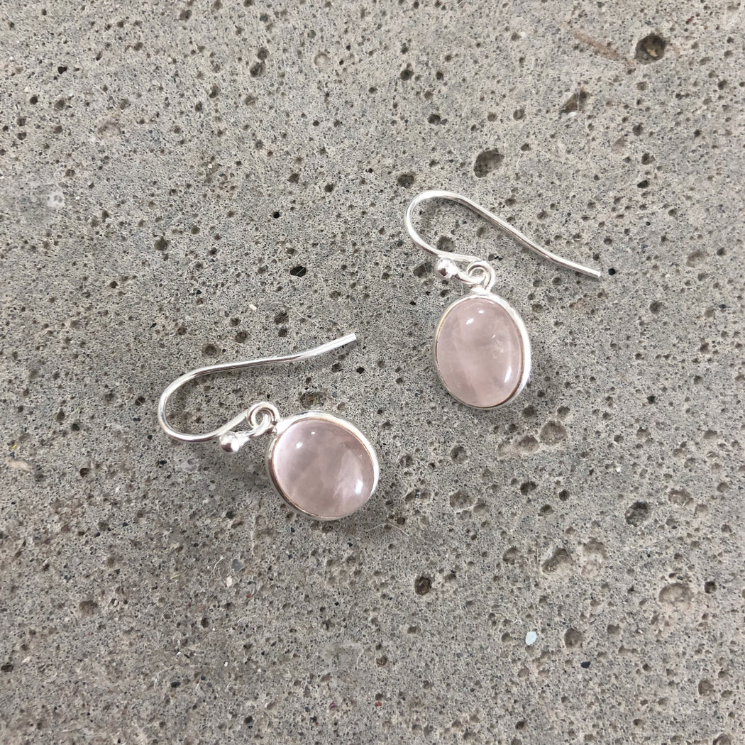 LUNA ROSE SILVER EARRING