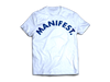 """MANIFEST"" White/Nipsey Blue Arc"