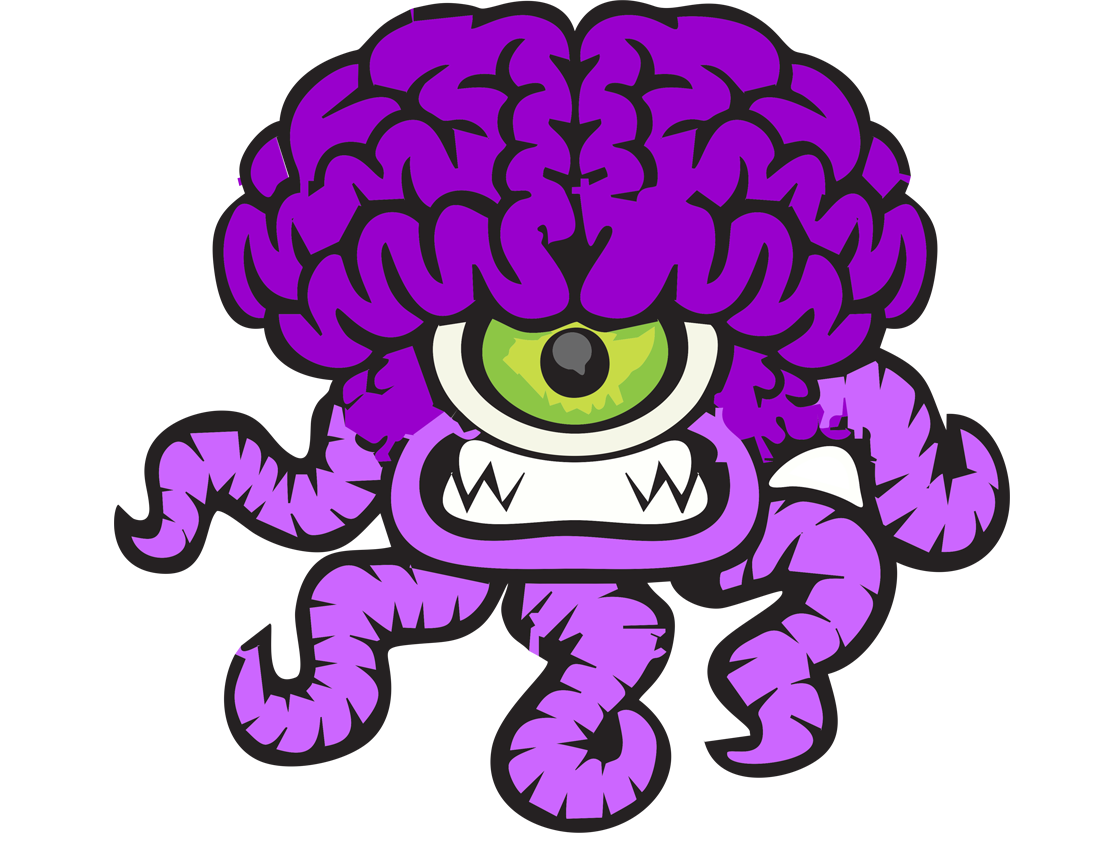 Meet Our Cute Chiari Malformation Monster (great for kids!)
