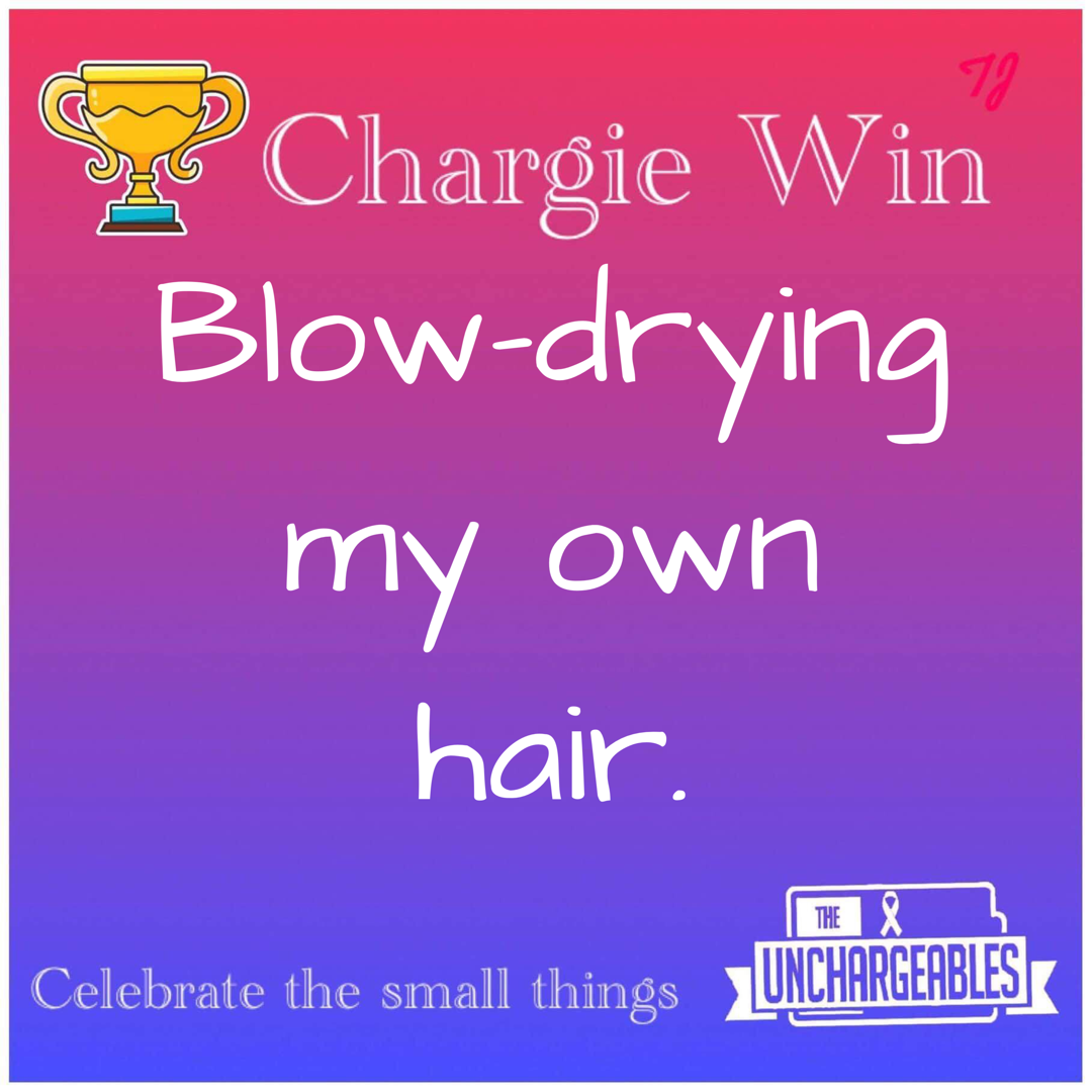 Celebrate The Small Victories Together - Chargie Wins