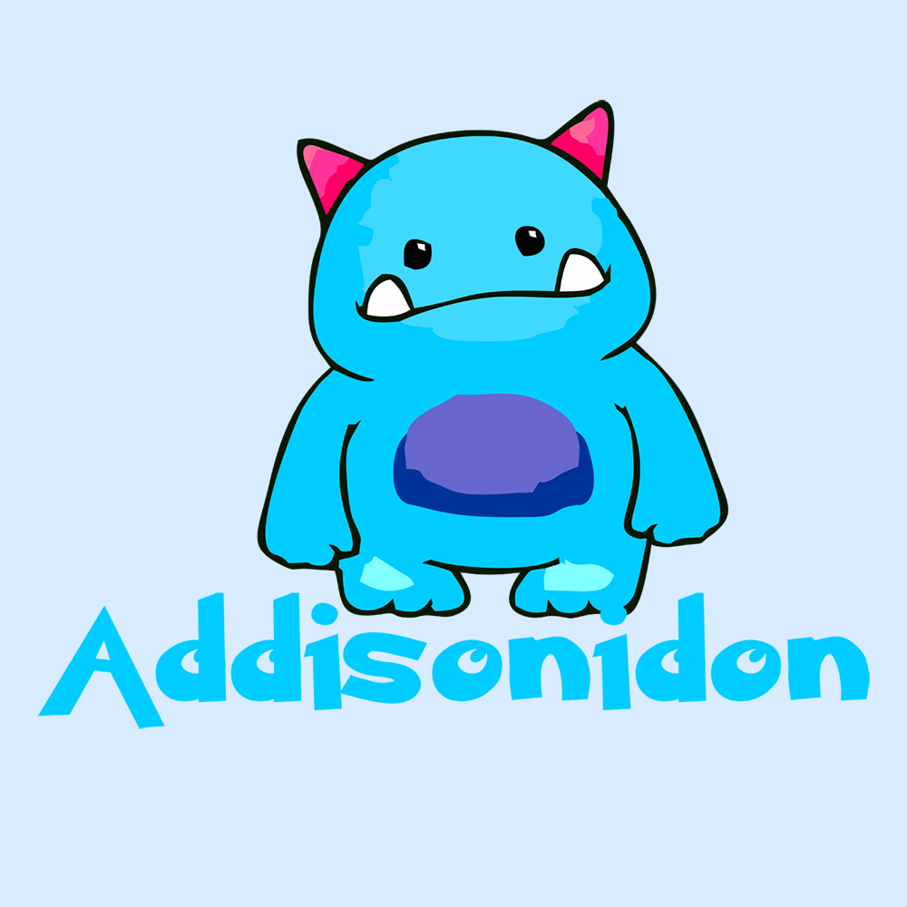 Addisons and Adrenal Insufficiency Monster
