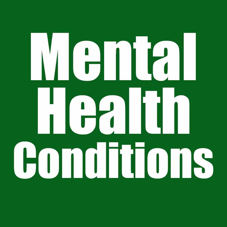 All Mental Health Conditions