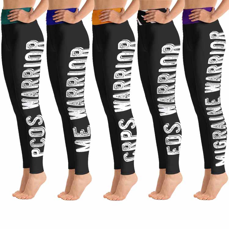 Warrior leggings with high waist