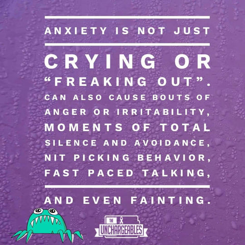 Anxiety meme explaining different aspects of anxiety