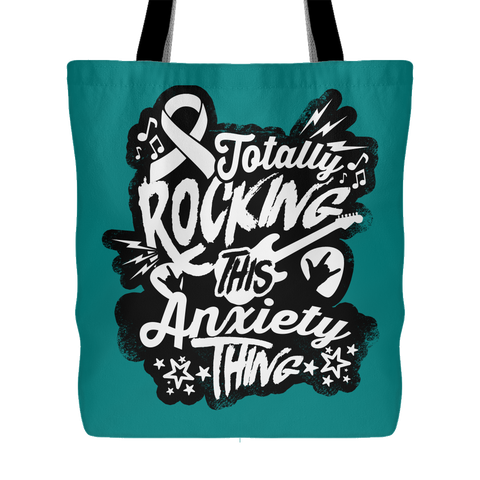 Rocking Anxiety Overnight Bag