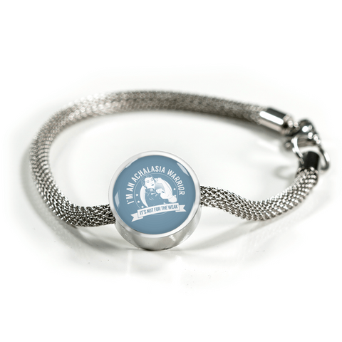 Achalasia Warrior NFTW Luxury Charm Bracelet
