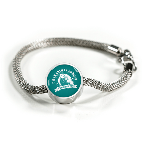 Anxiety Warrior NFTW Luxury Charm Bracelet