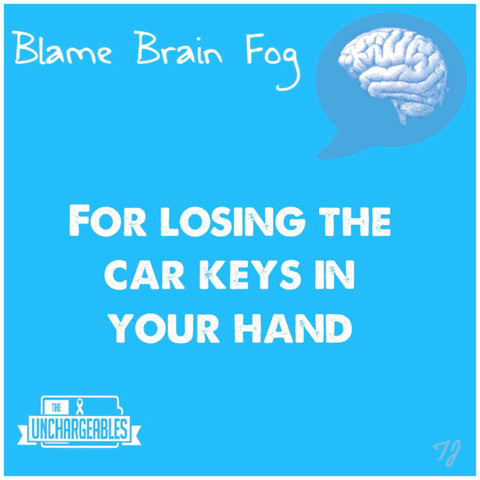 Brain Fog Meme lost my car keys again