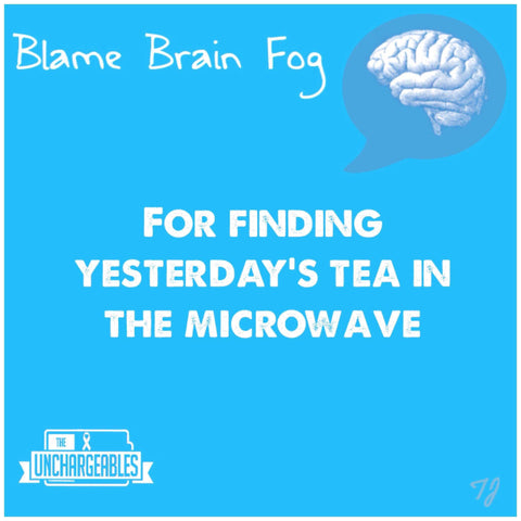 Brain Fog meme forgot my dinner