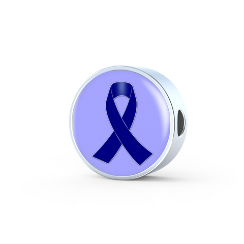 Navy Awareness Ribbon Charm