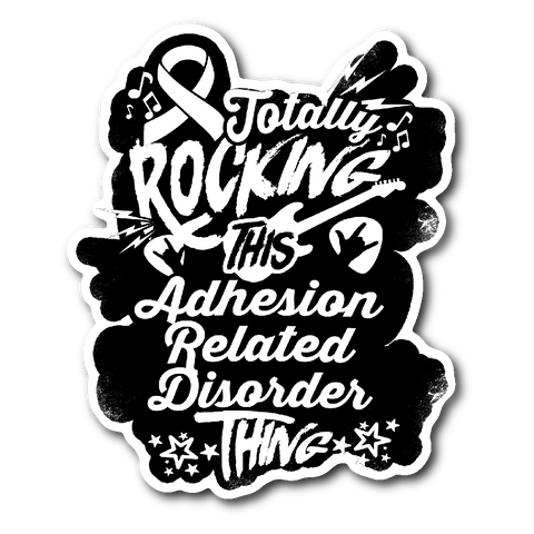 Rocking Adhesion Related Disorder Sticker