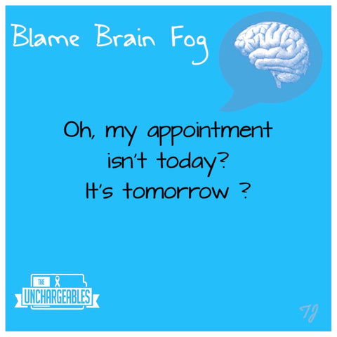 Brain Fog meme forgot appointment