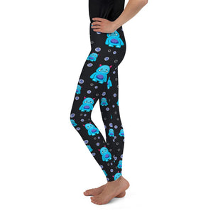 Addi Pattern Youth Leggings - The Unchargeables