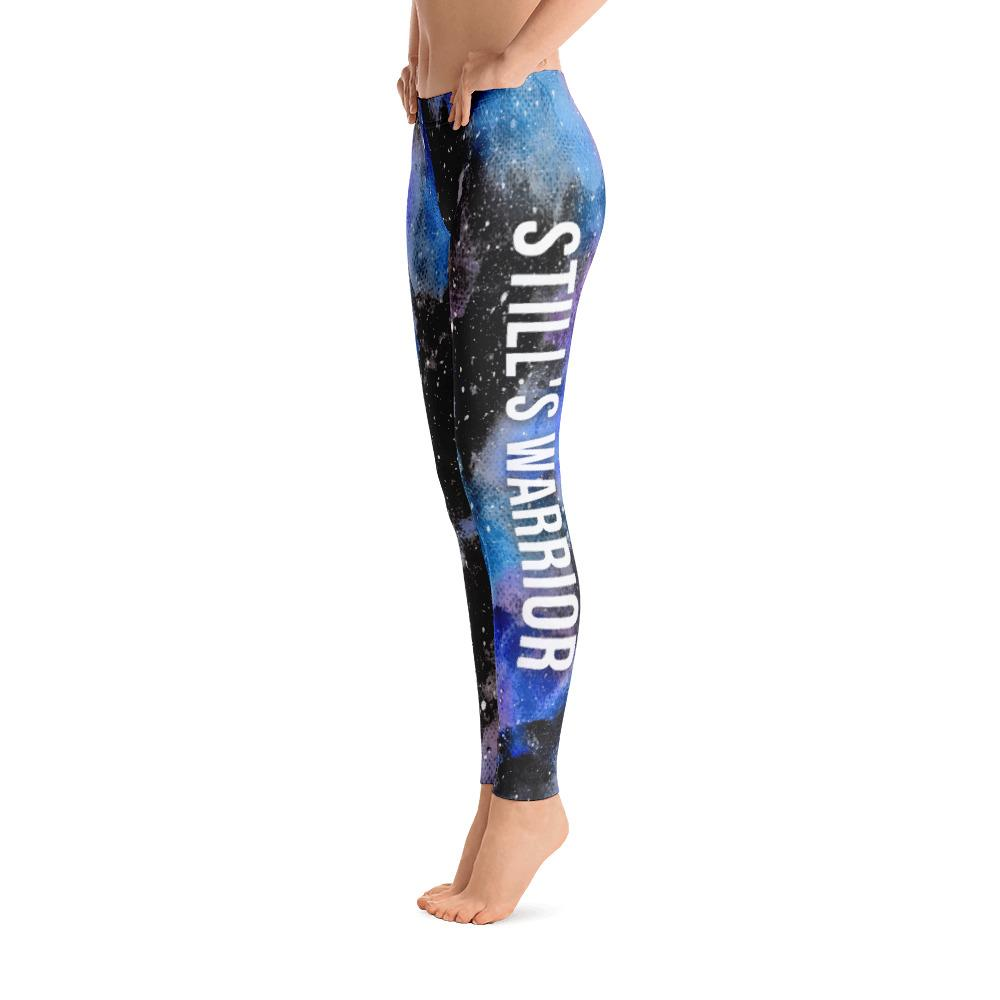 Adult-Onset Still's Disease - Stills Warrior NFTW Black Galaxy Leggings - The Unchargeables