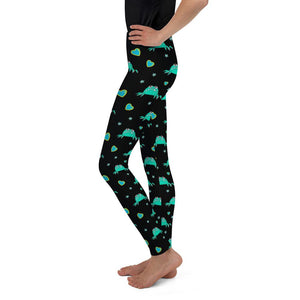Annie Pattern Youth Leggings - The Unchargeables