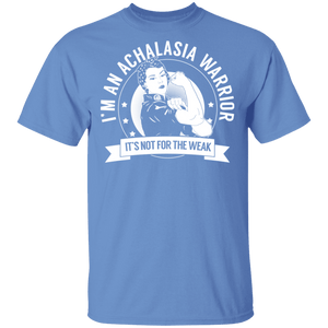Achalasia Warrior Not For The Weak Short Sleeve Shirts - The Unchargeables