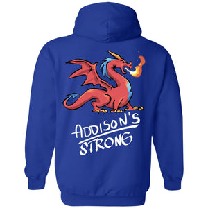 Addison's Strong Dragon Unisex Shirt, Long Sleeve V-Neck And Hoodie - The Unchargeables