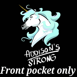 Addison's Strong Unicorn Shirts (Front pocket only) - The Unchargeables