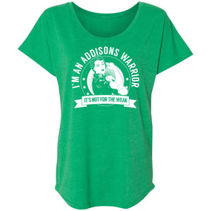 Addison's Warrior Not For The Weak Shirts, Tank And Hoodie - The Unchargeables
