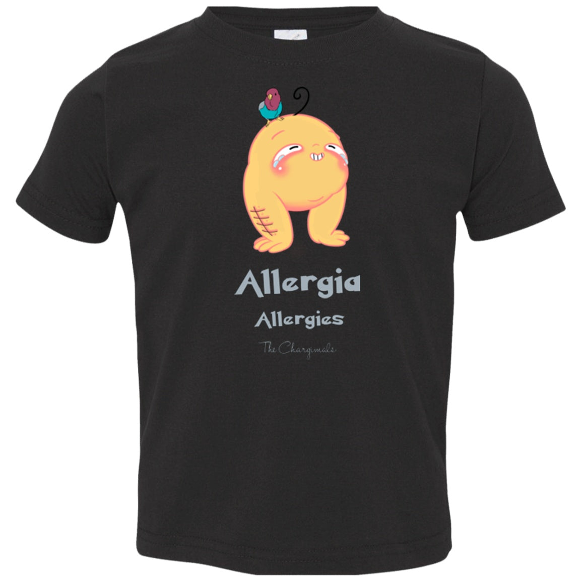 Ally the Allergy Monster Youth and Kids Shirts and Hoodies - The Unchargeables