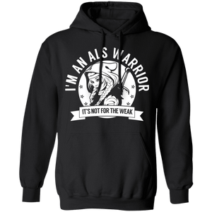 Amyotrophic Lateral Sclerosis - ALS Warrior Hooded Shirts, Tank And Hoodie