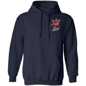 Ankylosing Spondylitis - AS Strong Dragon Shirts and Hoodie (Front pocket only) - The Unchargeables