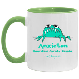 Annie The Anixety Monster Mug, Travel Mug And Water Bottle - The Unchargeables