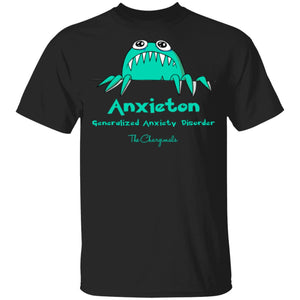 Annie The Anixety Monster Youth and Kids Shirts and Hoodies - The Unchargeables
