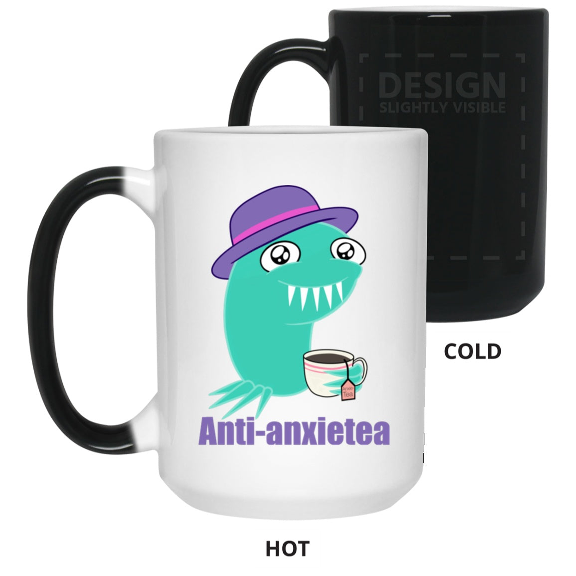 Anti Anxietea Color Changing Mug - The Unchargeables