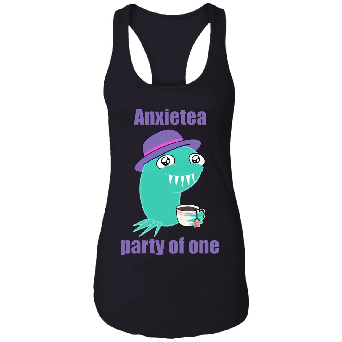 Anxietea Party Of One Shirts, Tank And Hoodie - The Unchargeables