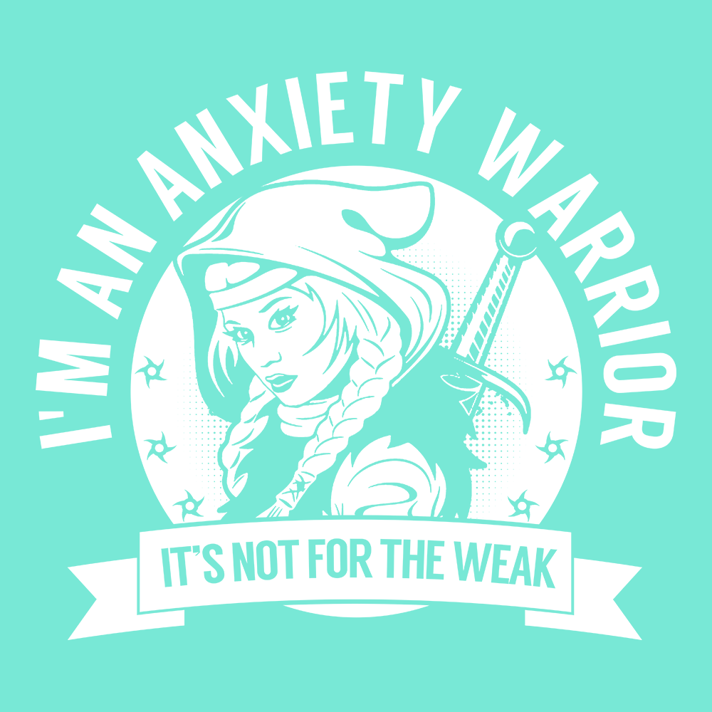 Anxiety Warrior Hooded Shirts, Tank And Hoodie - The Unchargeables