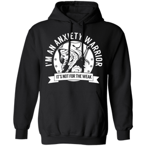 Anxiety Warrior Hooded Shirts, Tank And Hoodie