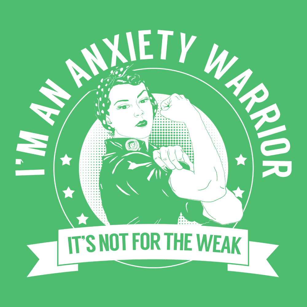 Anxiety Warrior Not For The Weak Shirts, Tank And Hoodie - The Unchargeables