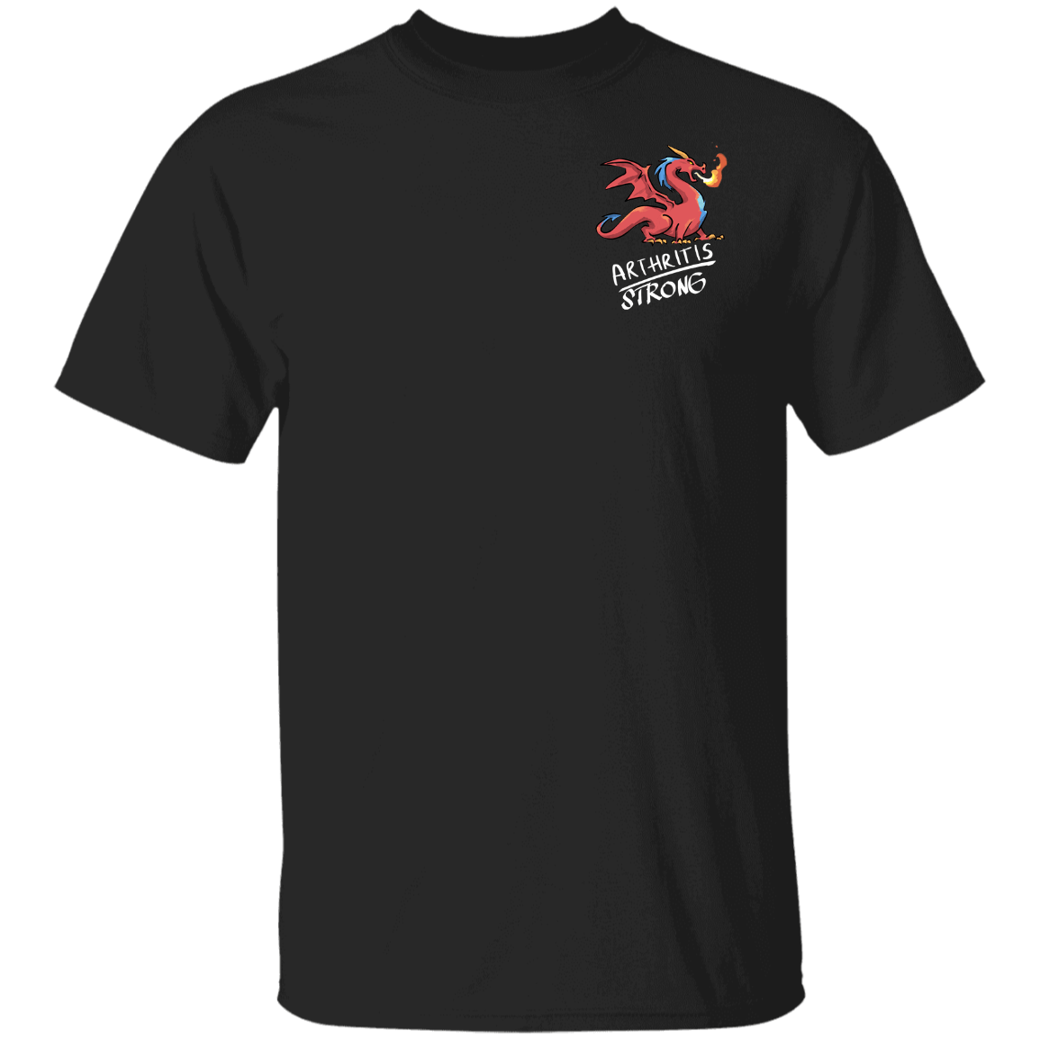 Arthritis Strong Dragon Shirts and Hoodie (Front pocket only) - The Unchargeables