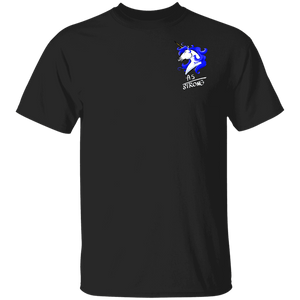 AS Strong Unicorn Shirts (Front pocket only) - The Unchargeables
