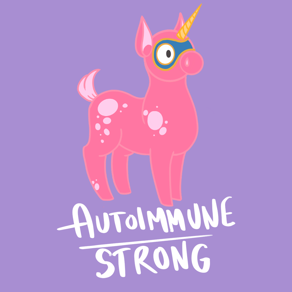 Autoimmune Strong Shirts With Autoimmune Disease Monster (Front pocket only) - The Unchargeables