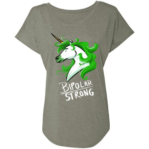 Bipolar Strong Unicorn Shirts, Tank And Hoodie - The Unchargeables