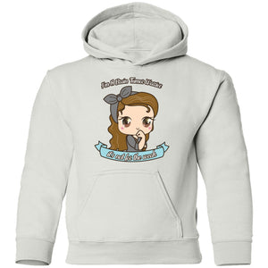 Brain Tumor Cute Warrior brown hair and eyes Youth Shirts and Hoodie - The Unchargeables