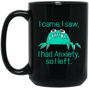 Came Saw Had Anxiety So Left Annie Mug And Water Bottle - The Unchargeables