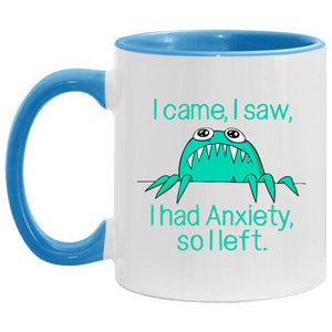 Came Saw Had Anxiety So Left Annie Mug, Travel Mug And Water Bottle - The Unchargeables