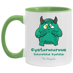 Apparel - CC The Interstitial Cystitis Monster Mug, Travel Mug And Water Bottle