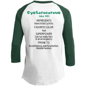 CC the Interstitial Cystitis Monster Shirt and a Hoodie