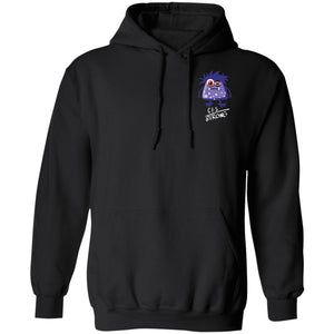CFS Strong Hoodies And Sweatshirts With Chronic Fatigue Syndrome Chargimal (Front pocket only) - The Unchargeables
